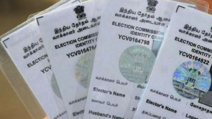 voters id card will be issued for free