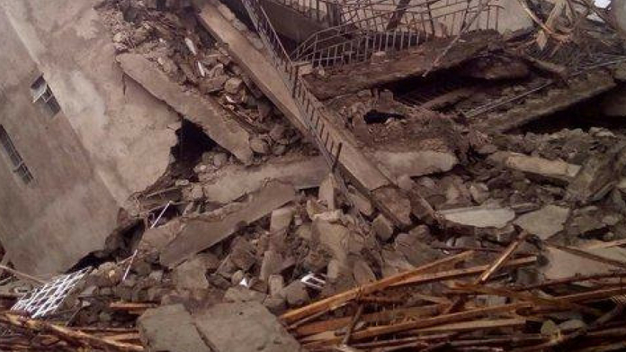 vythiri shopping complex collapsed