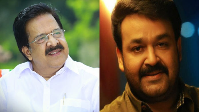mohanlal and chennithala