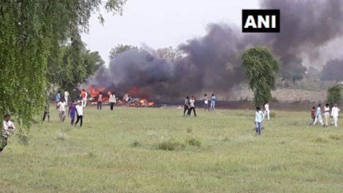 airforce-mig-27-crashes-near-jodhpur