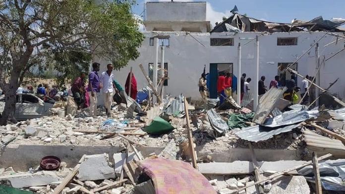 car bomb attack in mogadishu killed three