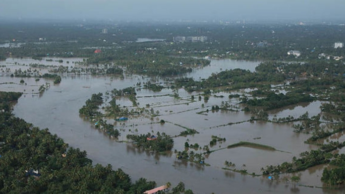 central team to visit kerala to assess flood destruction in kerala