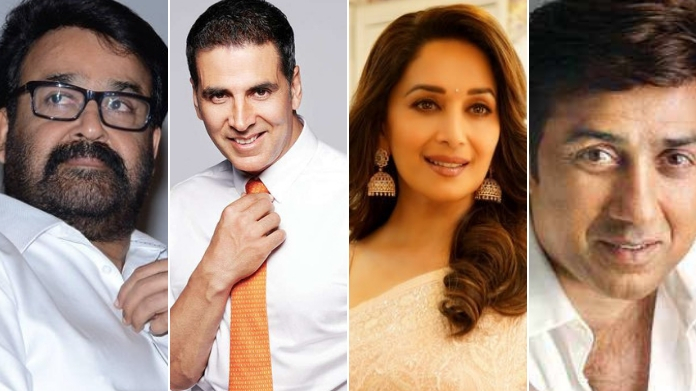 mohanlal akshay kumar and madhuri to contest in loksabha election