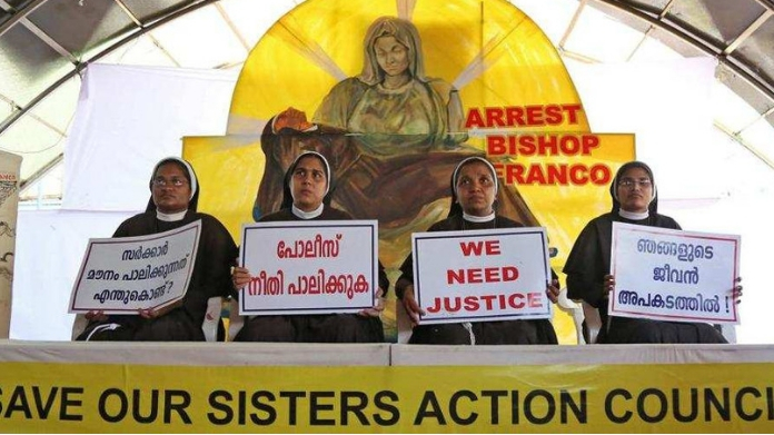 nun protest to end today