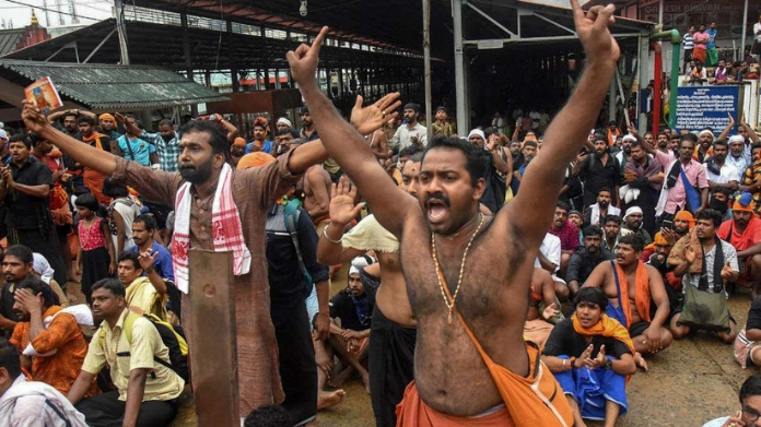 2825 arrested in connection with sabarimala issue