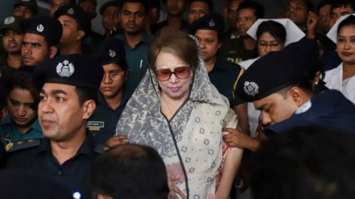 7 year imprisonment for khaleda zia