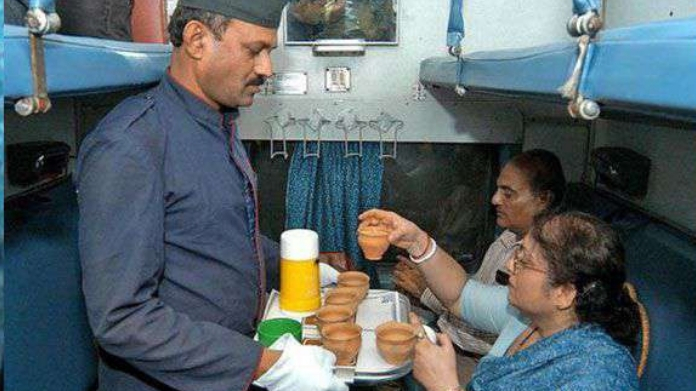 RAILWAY BANS ORDER BANNING SERVING OF NON VEG FOOD ON GANDHI JAYANTHI