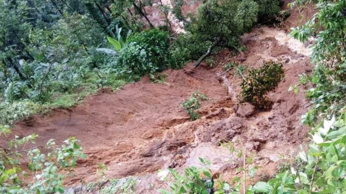 chances of landslide in kerala