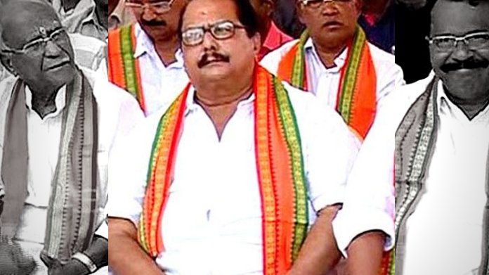 congress leader g raman nair enters bjp