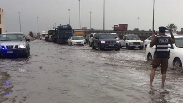 heavy rain in damam
