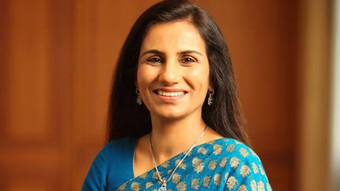 icici md chanda kochar resigned