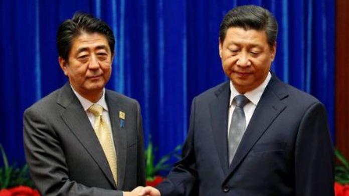 japan minister visits china