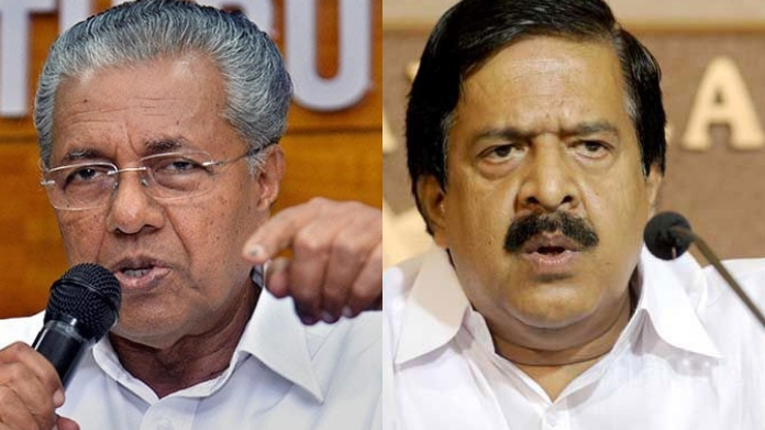 pinarayi and chennithala