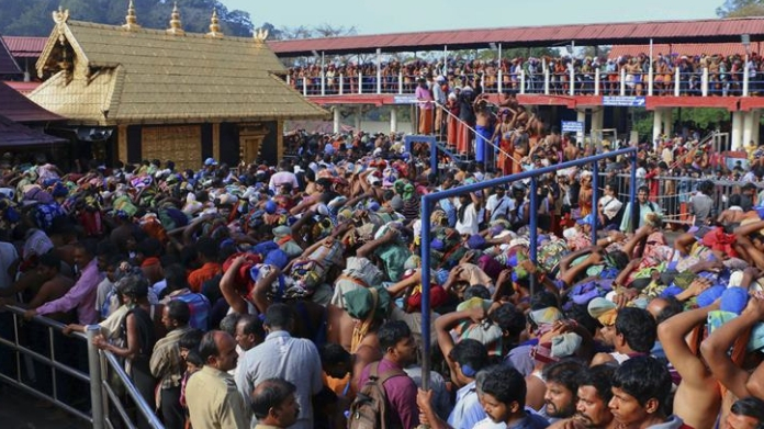 sabarimala review petition wont be considered soon says sc