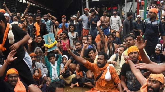 special commissioner report on sabarimala in hc