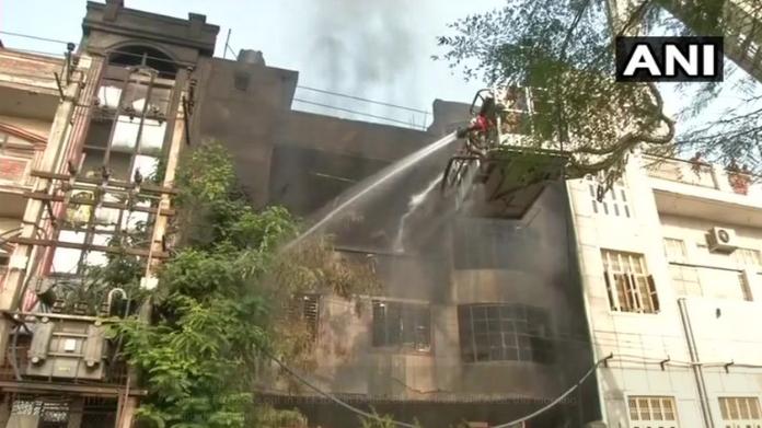 major fire break out in delhi factory