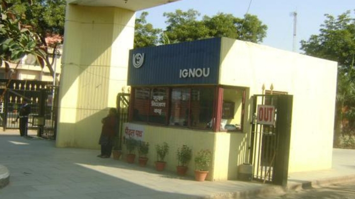 IGNOU didnt distribute textbook to students