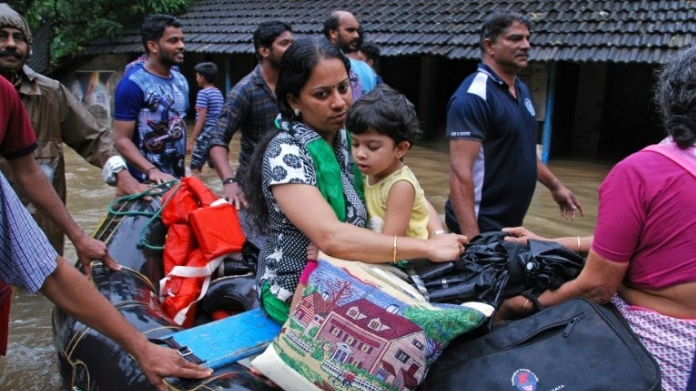 center to give 3100 crore rupees as flood relief fund for kerala