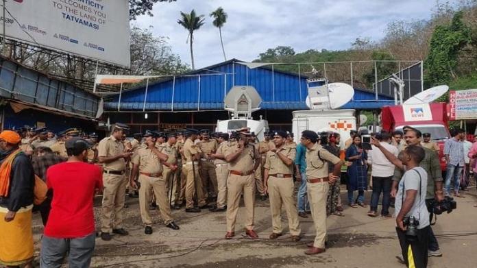 curfew at sabarimala from today
