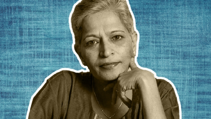 gauri lankesh was murdered by sanathan sanstha members after 5 year long planning