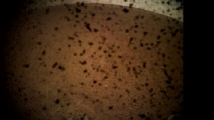 insight landed on mars