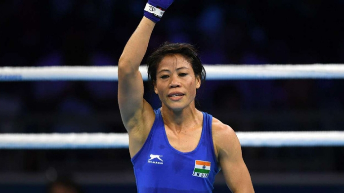 mary kom sets record by bagging sixth gold in world championship