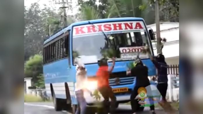 kerala police warns nillu nillu challenge