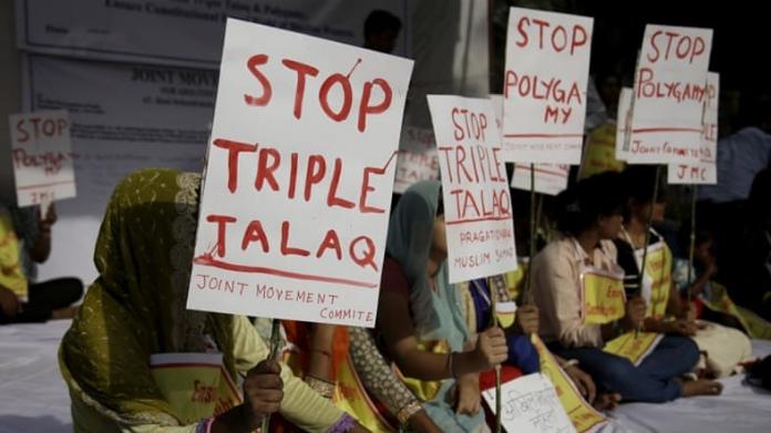 congress against triple talaq bill