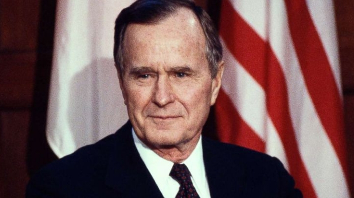 foremer prez george hw bush passes away