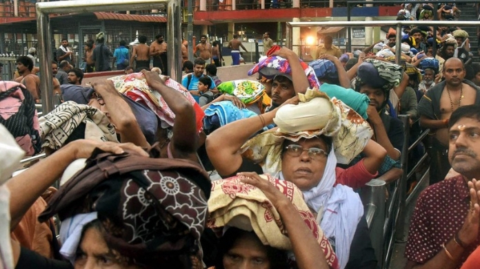 govt departments begin blame game on sabarimala women entry list