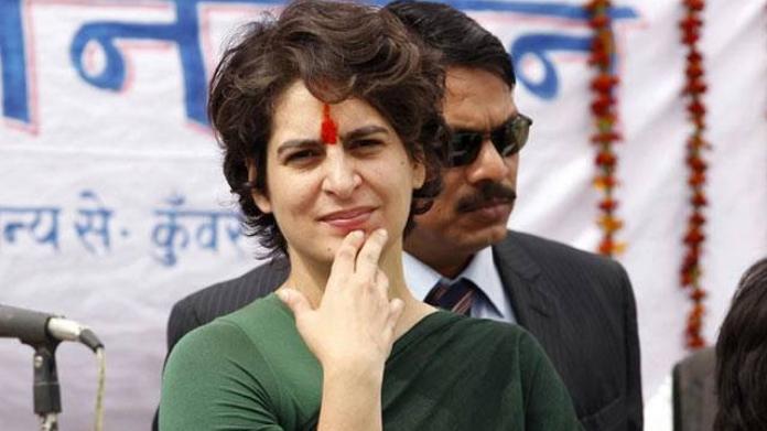 wont contest in loksabha election says priyanka gandhi