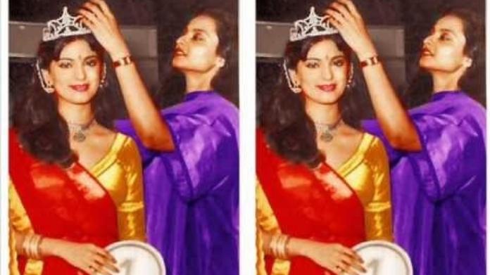juhi chawla miss india unseen pics