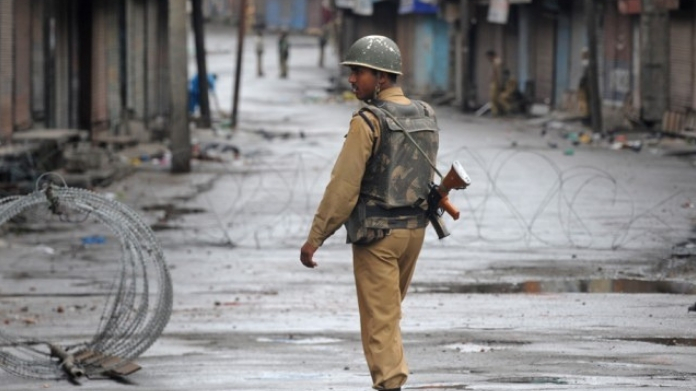 curfew declared in jammu kashmir