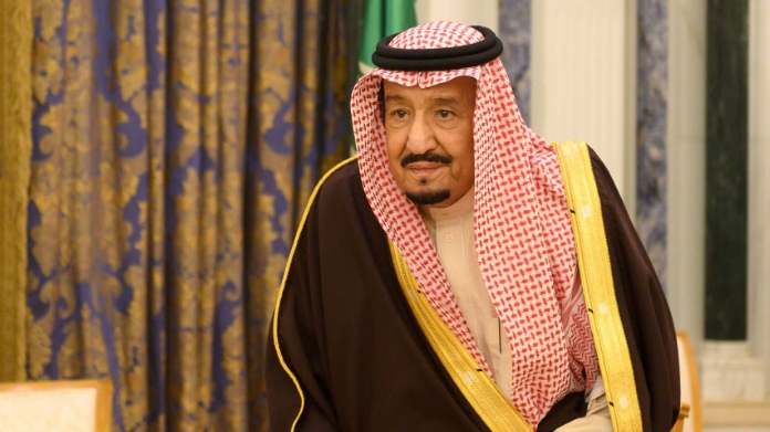 saudi king salman reached egypt