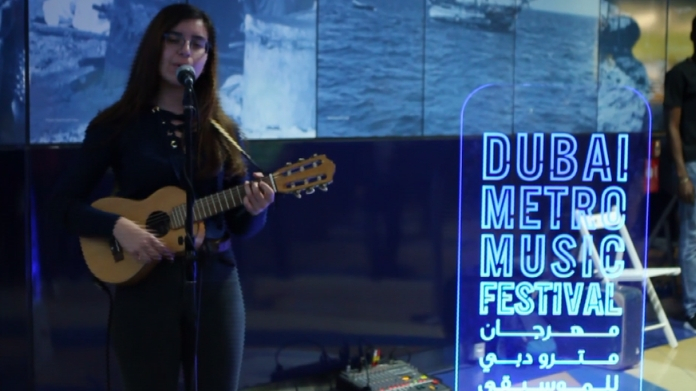 dubai metro carnival grabs public attention