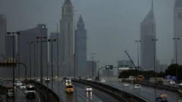 rain at dubai
