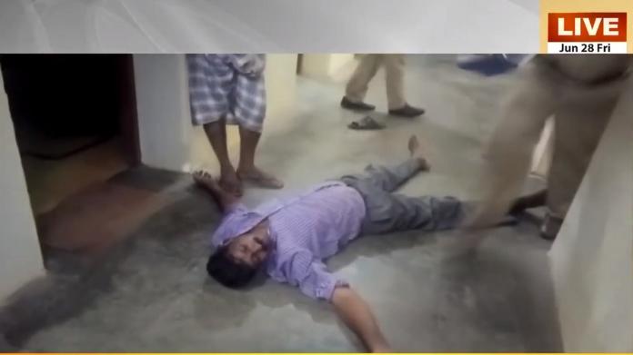 drunken policeman kerala visual