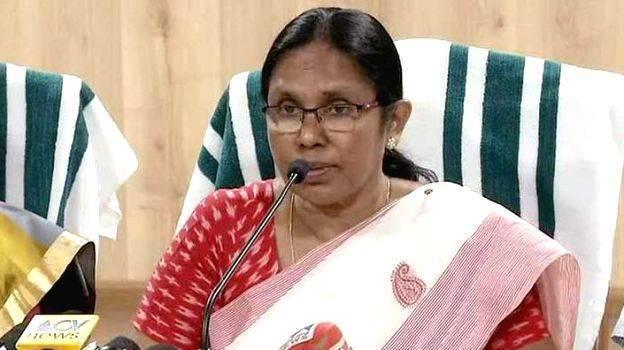 Minister KK Sailaja