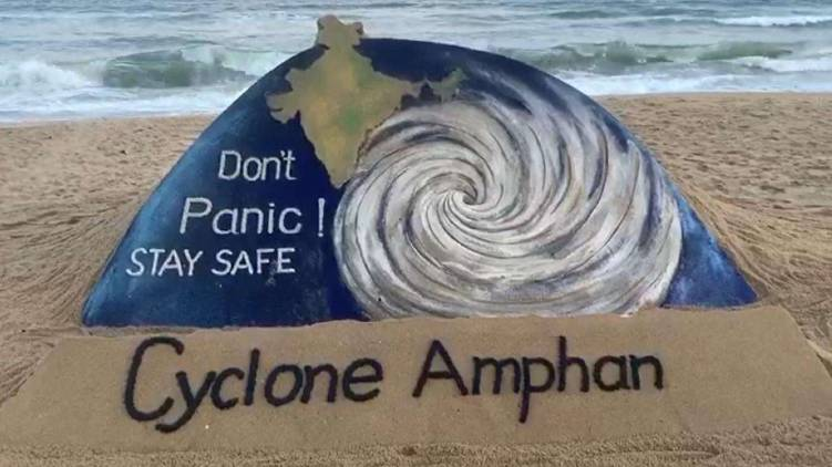 cyclone amphan loses strength