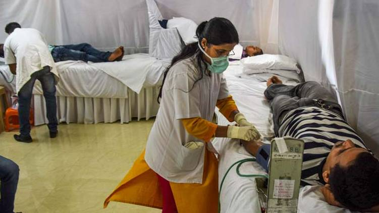 103 covid death past 24 hours india