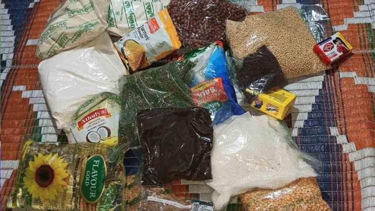 Opportunity to give away free food kit