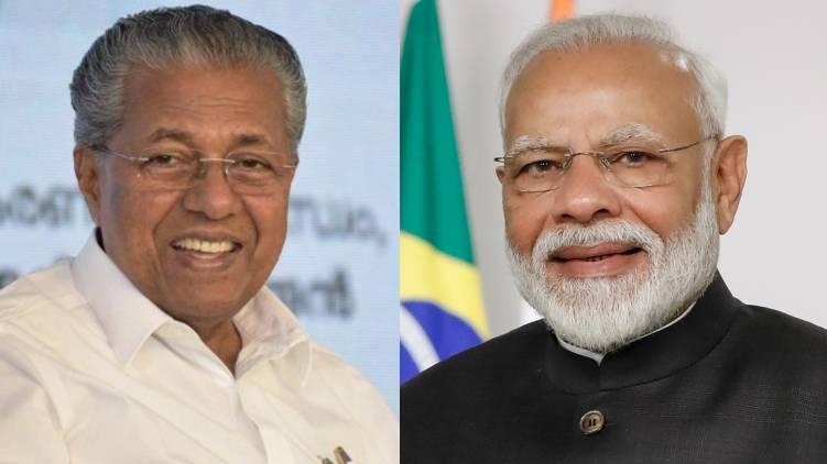 pinarayi vijayan and narendra modi