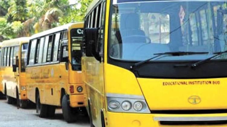 school bus KERALA