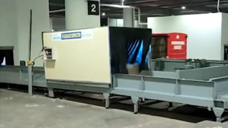 Keltron UV Baggage Disinfecter