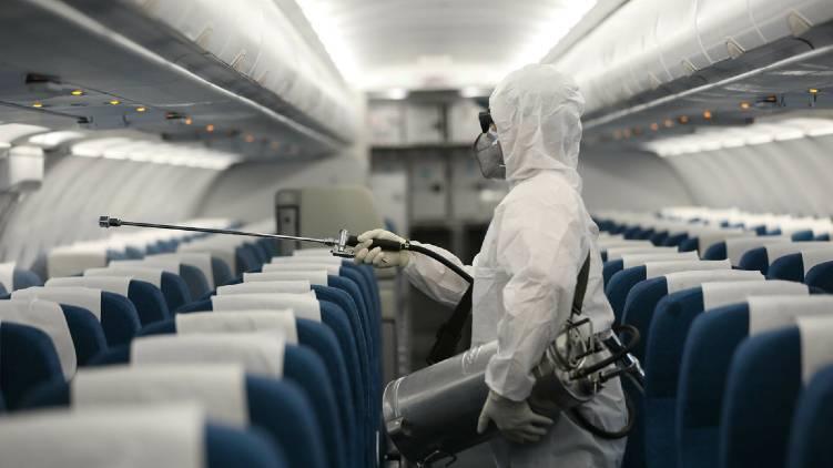 Nedumbasery airindia express disinfected