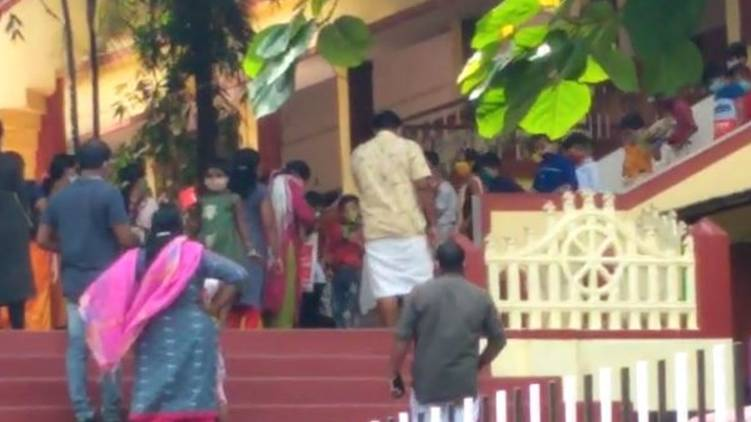 case against kunnamkulam school lockdown violation