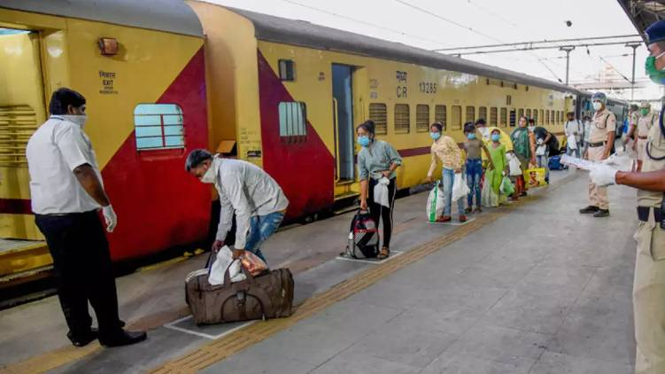 Train Carrying Migrants From Maharashtra to UP Ends up in Odisha