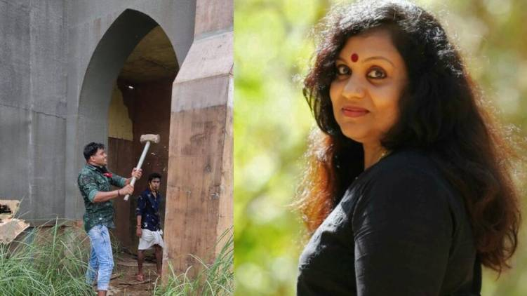minnal murali set step up with temple committee approval says sofia paul