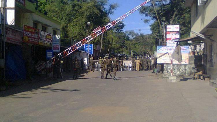 kumali border