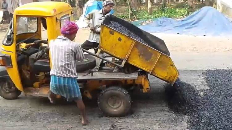 kerala road work